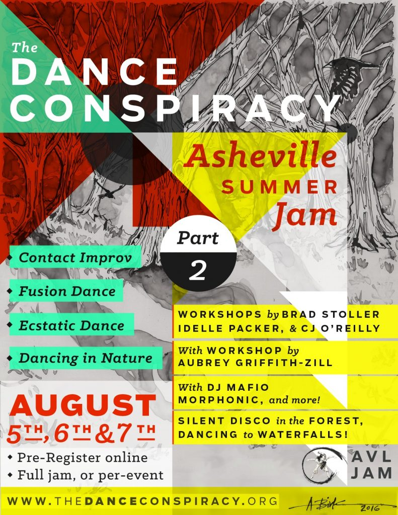 The Dance Conspiracy - Part 2 - Asheville Summer Jam
